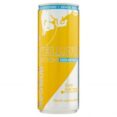 RED BULL-Red Bull Sugarfree Yellow Edition Energy Drink 250 ml lattina