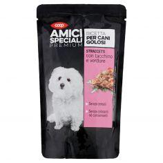 Coop-Ricetta per Cani Golosi Straccetti con tacchino e verdure 150 g