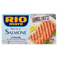 RIO MARE-Rio mare FIletto di Salmone al Naturale consolo unagoccia di limone Grigliato 125 g