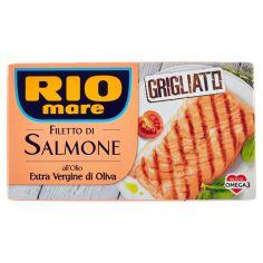 RIO MARE-Rio mare Filetto di Salmone all'olio Extra Vergine di Oliva Grigliato 125 g