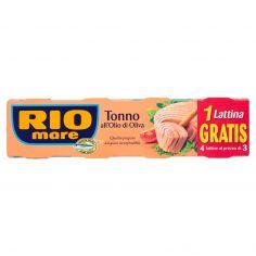 RIO MARE-Rio Mare Tonno all'Olio di Oliva 4 x 120 g