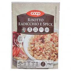 Coop-Risotto Radicchio e Speck 175 g