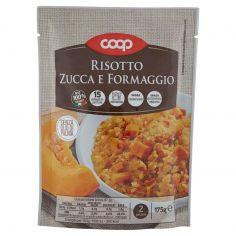 Coop-Risotto Zucca e Formaggio 175 g