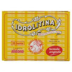 IDROLITINA-ristora Idrolitina Preparato per Acqua da Tavola 20 buste 200 g