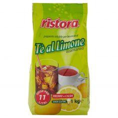 RISTORA-ristora preparato solubile per bevanda di Tè al Limone istantaneo 1 kg