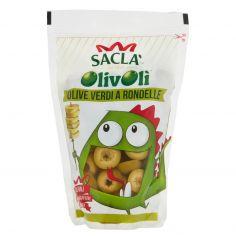 OLIVOLI'-Saclà OlivOlì Olive Verdi a Rondelle 185 g