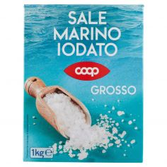 Coop-Sale Marino Iodato Grosso 1 kg