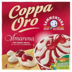 COPPA ORO-Sammontana Coppa Oro Amarena 4 x 90 g