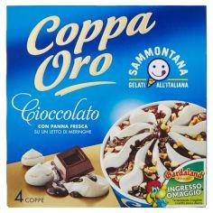 COPPA ORO-Sammontana Coppa Oro Cioccolato 4 x 90 g