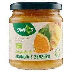 SANABIOS-sanabios Composta di Arancia e Zenzero 320 g