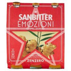 SAN BITTER-SANBITTÈR Emozioni di Zenzero, Aperitivo Analcolico 20cl x 3