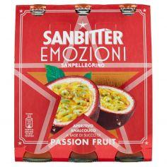SAN BITTER-SANBITTER Emozioni Passion Fruit, Aperitivo Analcolico 20cl x 3
