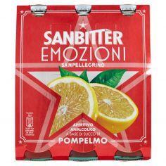 SAN BITTER-SANBITTER Emozioni Pompelmo, Aperitivo Analcolico 20cl x 3