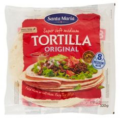 SANTA MARIA-Santa Maria Super soft medium Tortilla Original 320 g