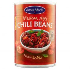 SANTA MARIA-Santa Maria Tex Mex Mexican style Chili Beans Medium 410 g