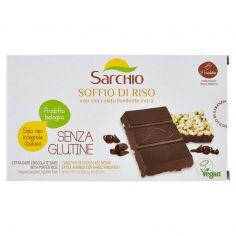 SARCHIO-Sarchio Soffio di Riso con cioccolato fondente extra 3 x 25 g