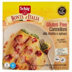 BONTA? D?ITALIA-Schär Bontá d'Italia Cannelloni alla ricotta e bieta 300 g