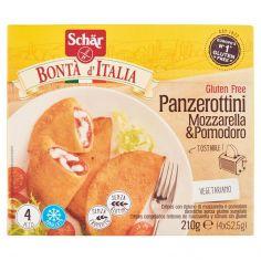 BONTA? D?ITALIA-Schär Bontà d'Italia Panzerottini Mozzarella & Pomodoro 4 x 52,5 g