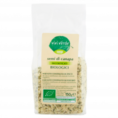 Coop-semi di canapa Decorticati Biologici 150 g