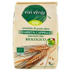 Coop-semolato di grano duro Varietà Cappelli macinato fine Biologico 1 kg
