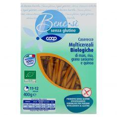 Coop-senza glutine Caserecce Multicereali Biologiche di mais, riso, grano saraceno e quinoa 400 g