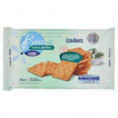 Coop-senza glutine Crackers 200 g