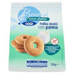 Coop-senza glutine Frollini classici con panna 250 g