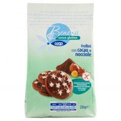 Coop-senza glutine Frollini con cacao e nocciole 250 g