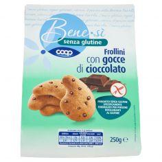Coop-senza glutine Frollini con gocce di cioccolato 250 g