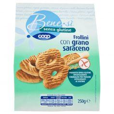 Coop-senza glutine Frollini con grano saraceno 250 g