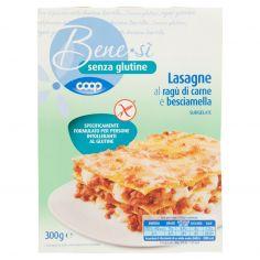 Coop-senza glutine Lasagne al ragù di carne e besciamella Surgelate 300 g