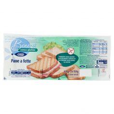 Coop-senza glutine Pane a fette 2 x 150 g