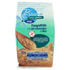 Coop-senza glutine Pangrattato con olio extravergine di oliva 250 g