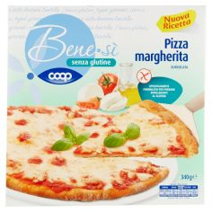 Coop-senza glutine Pizza margherita Surgelata 340 g