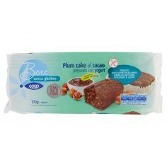 Coop-senza glutine Plum cake al cacao preparato con yogurt 6 x 45 g