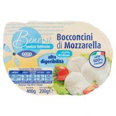 Coop-senza lattosio Bocconcini di Mozzarella alta digeribilità 200 g