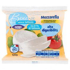 Coop-senza lattosio Mozzarella alta digeribilità 125 g