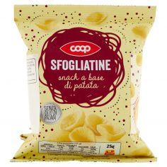 Coop-Sfogliatine snack a base di patata 6 x 25 g
