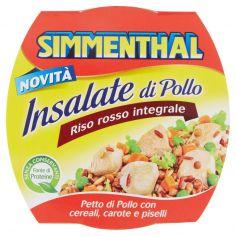 SIMMENTHAL-Simmenthal Insalate di Pollo Riso rosso integrale 160 g