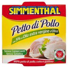 SIMMENTHAL-Simmenthal Petto di Pollo con 5% di Olio extra vergine d'Oliva 133 g