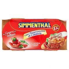 SIMMENTHAL-Simmenthal Sapori italiani con Peperoncino di Calabria 2 x 135 g