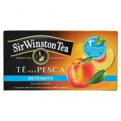 SIR WINSTON-Sir Winston Tea Tè alla Pesca Deteinato 20 bustine 30 g