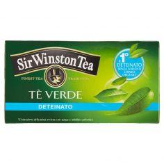 SIR WINSTON-Sir Winston Tea Tè Verde Deteinato 20 bustine 35 g