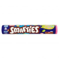 SMARTIES-SMARTIES MAXI TUBO Confetti ripieni di cioccolato al latte tubo da 130g