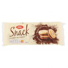 Coop-Snack Biscotto Farcito al Cacao 6 x 40 g