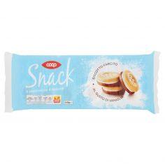 Coop-Snack Biscotto Farcito al Gusto di Vaniglia 6 x 40 g