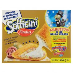 SOFFICINI-Sofficini Findus 4 Sofficini Crema di Patate e Salsiccia Più Mozzarella 266 g