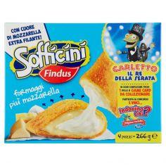 SOFFICINI-Sofficini Findus 4 Sofficini Formaggi Più Mozzarella 266g
