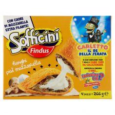 SOFFICINI-Sofficini Findus 4 Sofficini Funghi Più Mozzarella 266g