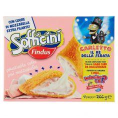 SOFFICINI-Sofficini Findus 4 Sofficini Prosciutto cotto Più Mozzarella 266 g